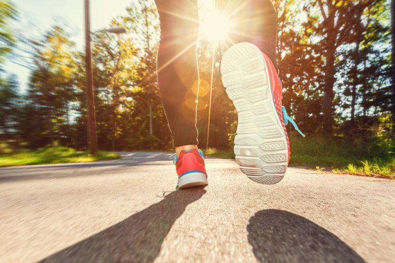 Ich hopple einen Marathon