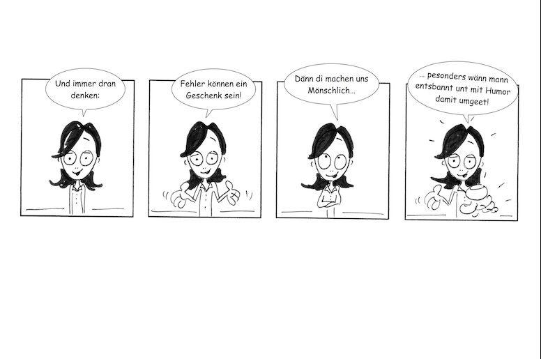 15. Tür beim ICH REDE Adventskalender: Ein Comic
